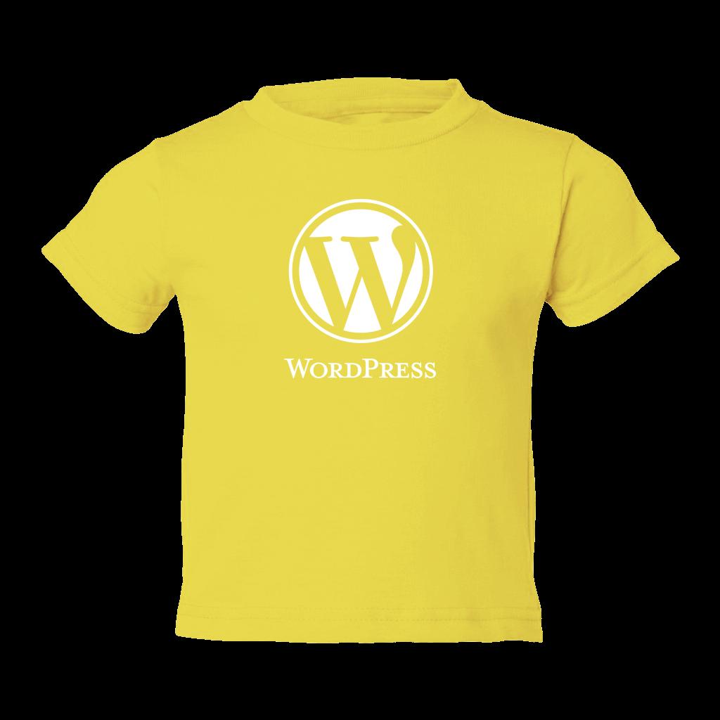 WordPress Logo Kids T-Shirt – WordPress Swag Store