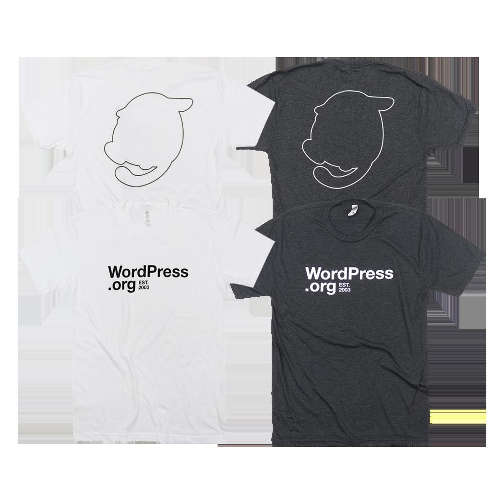 wordpressorg horizontal t shirt